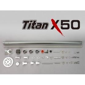 Raptor Titan X50 TorqueTube -Conv. kit