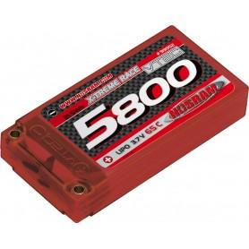 VTEC LiPo 5800 X-treme Race Hardcase - 65C - 3,7V