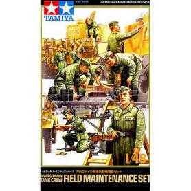 German Field Maintenance Tank Crew set