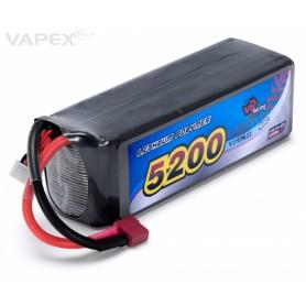 Li-Po Batteri 4S 14,8V 5200mAh 40C T-kontakt