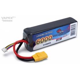 Li-Po Batteri 3S 11,1V 6000mAh 50C XT90-Kontakt
