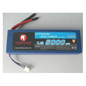 Yuntong LiPo 7,4V 2S 5000mAh HardCase