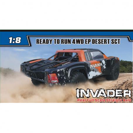 INVADER 4WD EP DESERT SCT