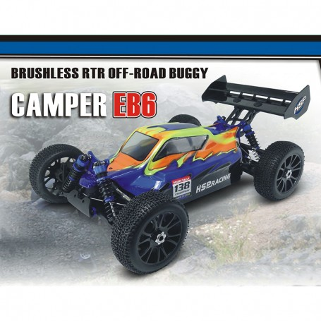 CAMPER EB6 1/8 ELECTRIC BUGGY