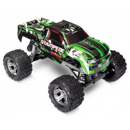 Stampede 2WD 1/10 RTR TQ Grön utan Batt & Ladd