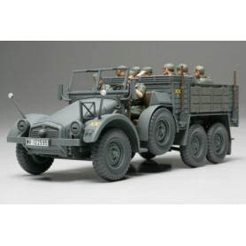 German 6x4 Truck Krupp Protze 1/48